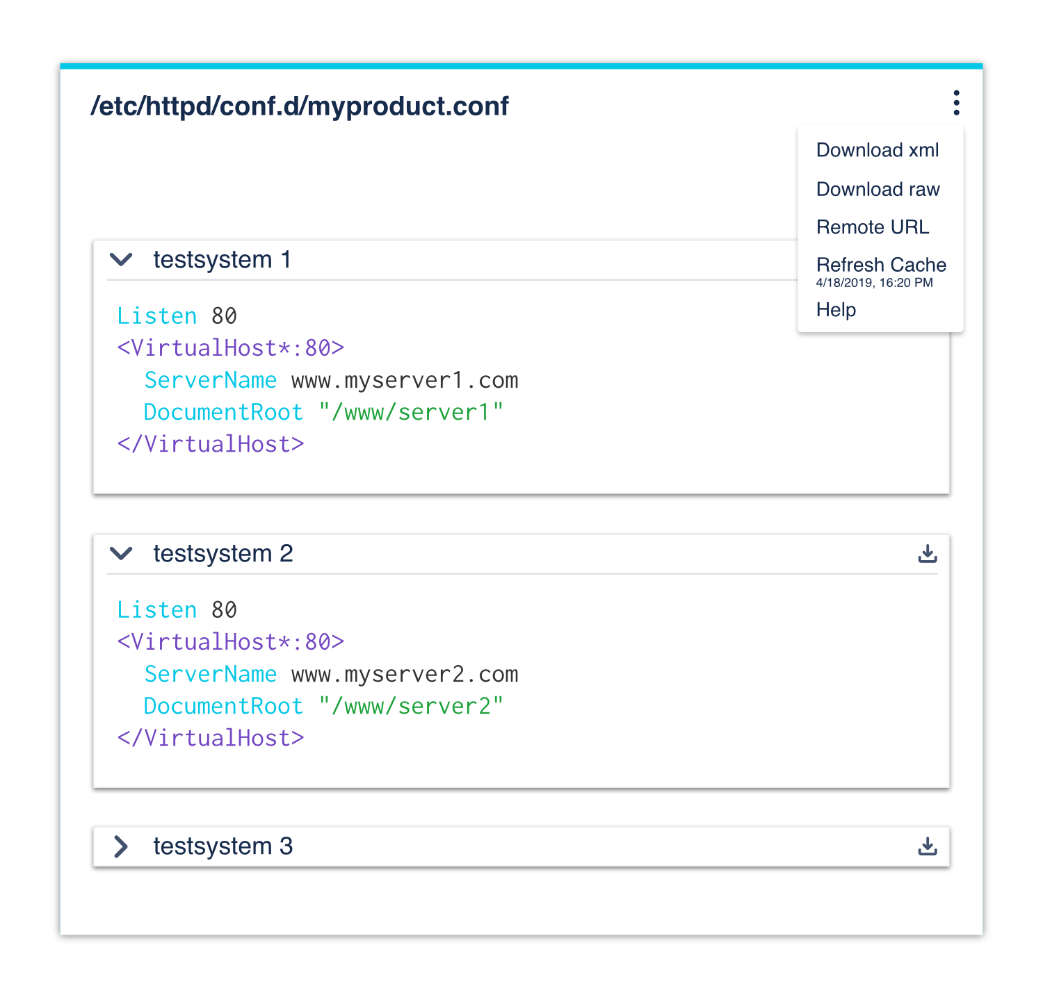 The Advanced Codeblocks Remote is used for inserting the config-block directly in Confluence but the template from any source.