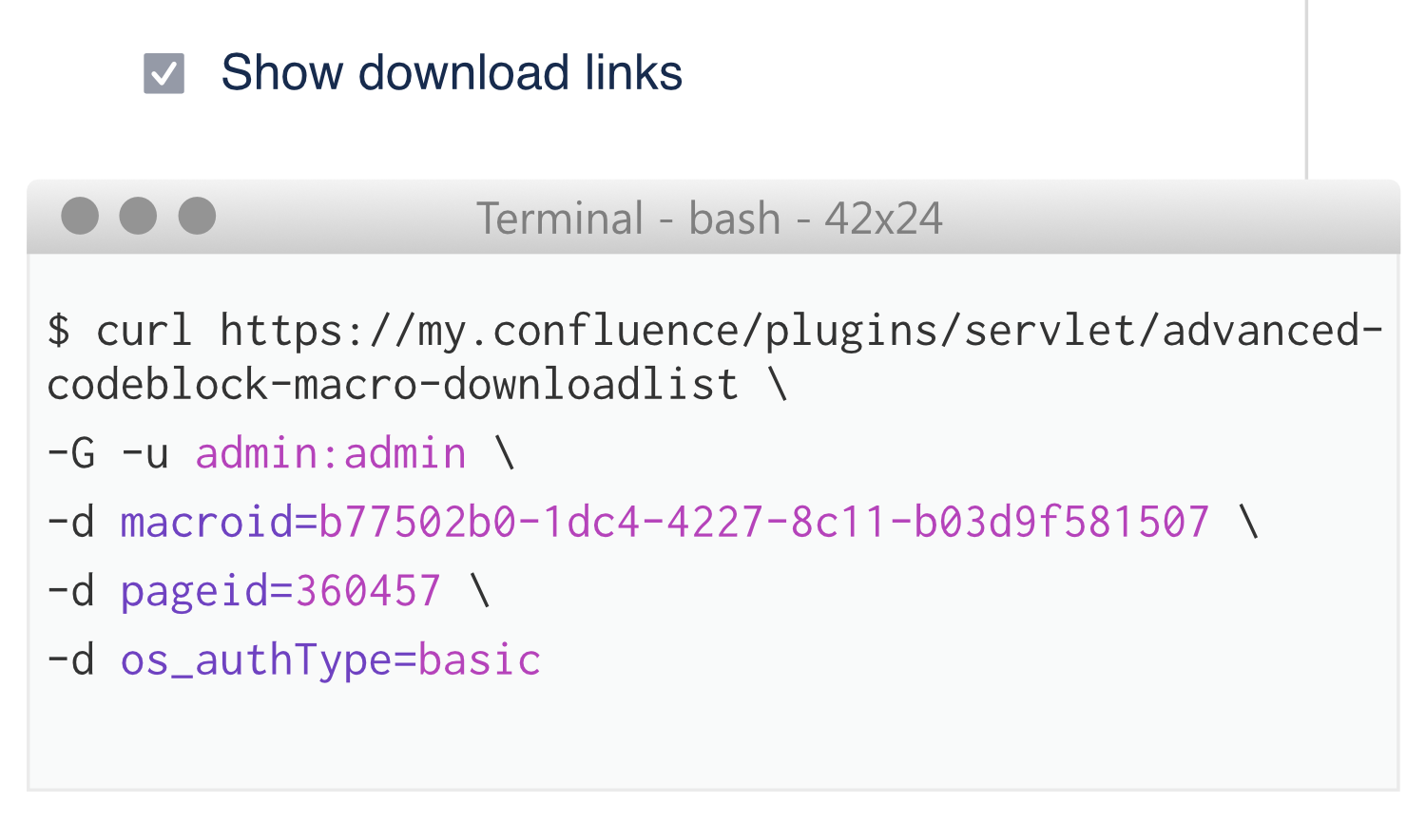 Use the download feature also to download configs directly in your automated provisioning scripts.
